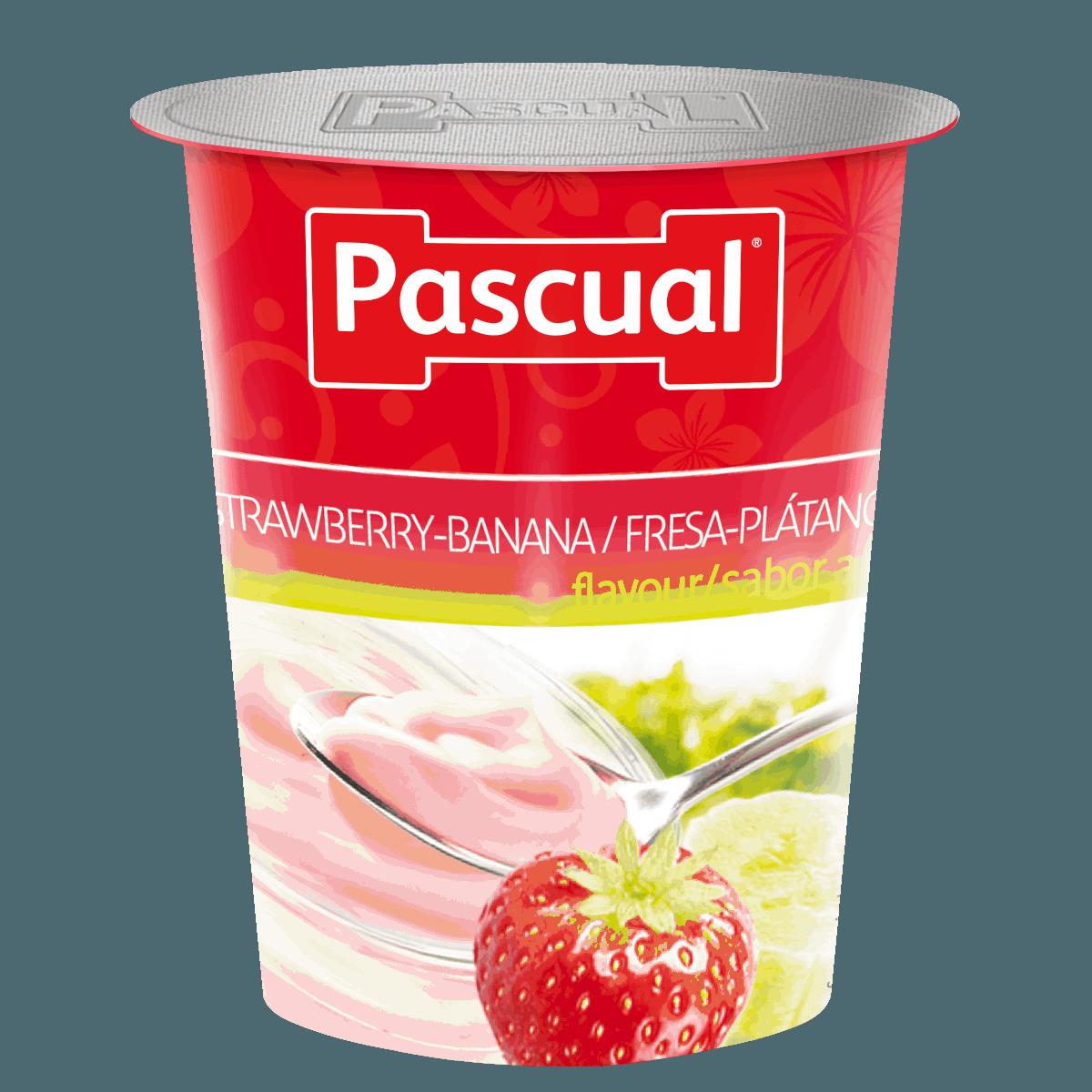 yogur-fresa-platano-pascual